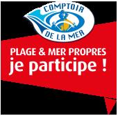 logo plages et mer propres