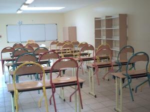 Domaine de la Forêt - salle de classe