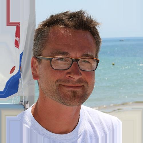 Portrait de Yann Trolley, directeur du cercle nautique de loctudy