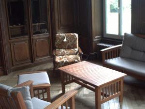 Domaine de la Forêt - salon institeur